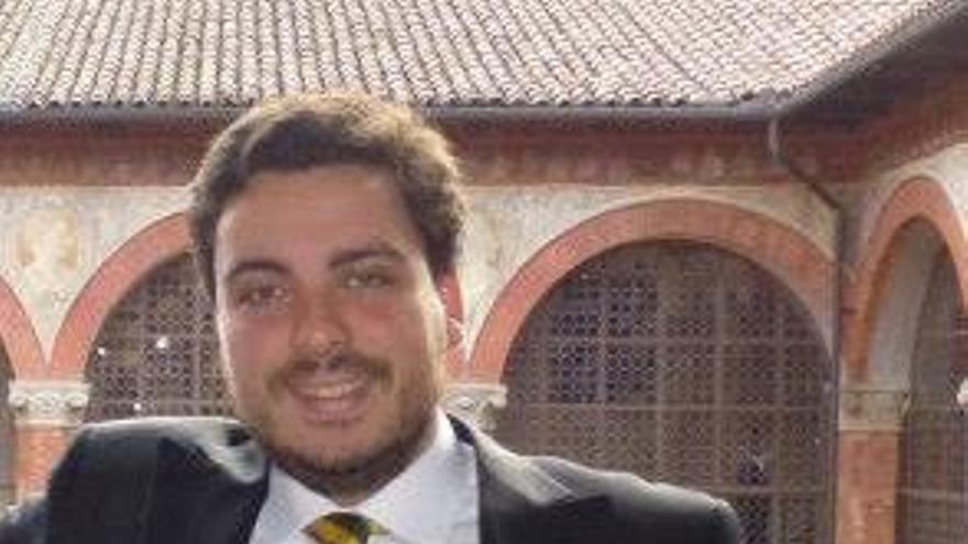 José Manuel Macarro Osuna actualmente cursa sus estudios de doctorado en la Universidad de Bolonia (Italia)