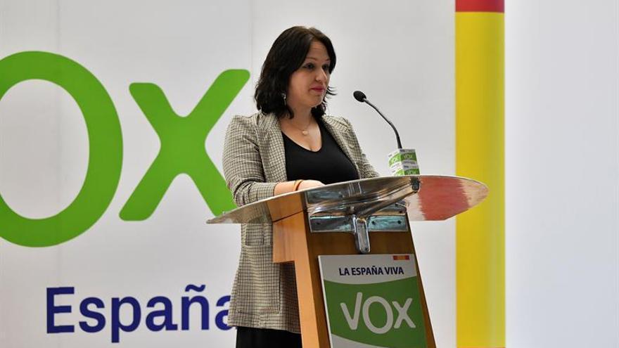 La diputada andaluza Luz Belinda Rodríguez EFE/Carlos Barba/Archivo