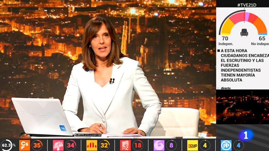 TVE no hizo por primera vez emisión en catalán en las autonómicas del 21-D