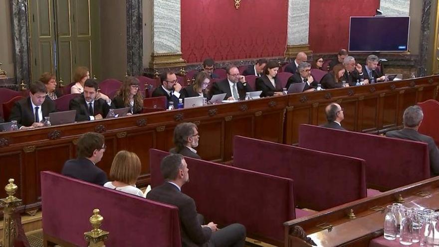 """Arranca la jornada número 30 del juicio del """"procés"""" con más policías"""