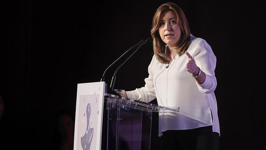 """Susana Díaz anima a """"levantar la bandera de la tolerancia"""" hacia refugiados"""