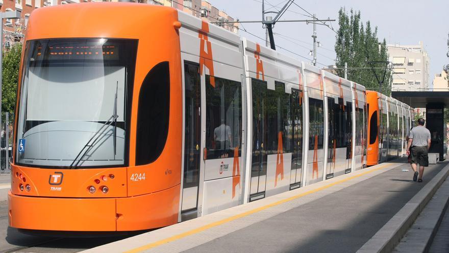 Una imagen del TRAM de Alicante