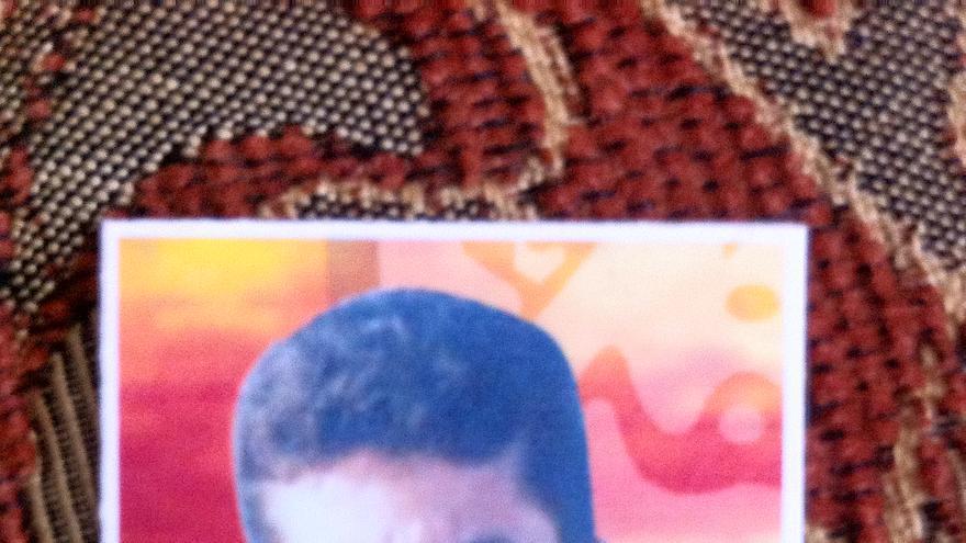 Ibrahim Mansur. Murió por un disparo en la cabeza mientras recogía bloques de edificios destruidos en Beit Hanun/ Franja de Gaza, el 13 de febrero de 2014. Foto cedida por la familia.
