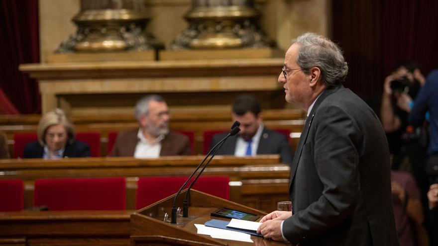 La CUP pide a JxCat y ERC ponerse de acuerdo sobre la inhabilitación de Torra