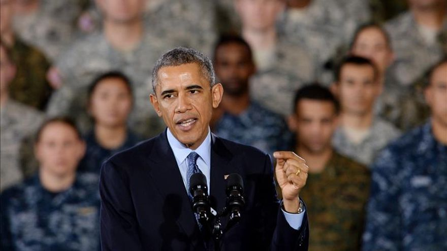 "Obama: Aparente asesinato de piloto jordano obliga a ""redoblar"" el combate al EI"