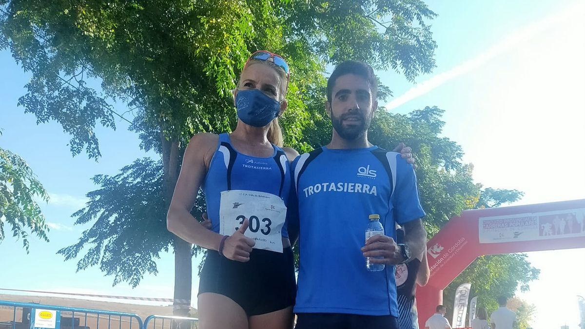 Jaime Fernández y Raquel Hernández, vencedores en Belalcázar
