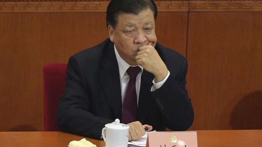 """El """"número 5"""" del régimen chino se reúne con directivos de la prensa mundial"""