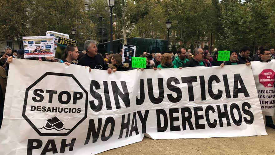 Manifestación contra la resolución del Tribunal Supremo sobre el impuesto de las hipotecas / David Noriega