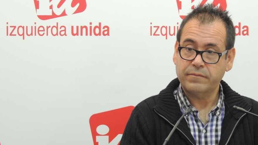 Juan Ramón Crespo, coordinador regional de IU