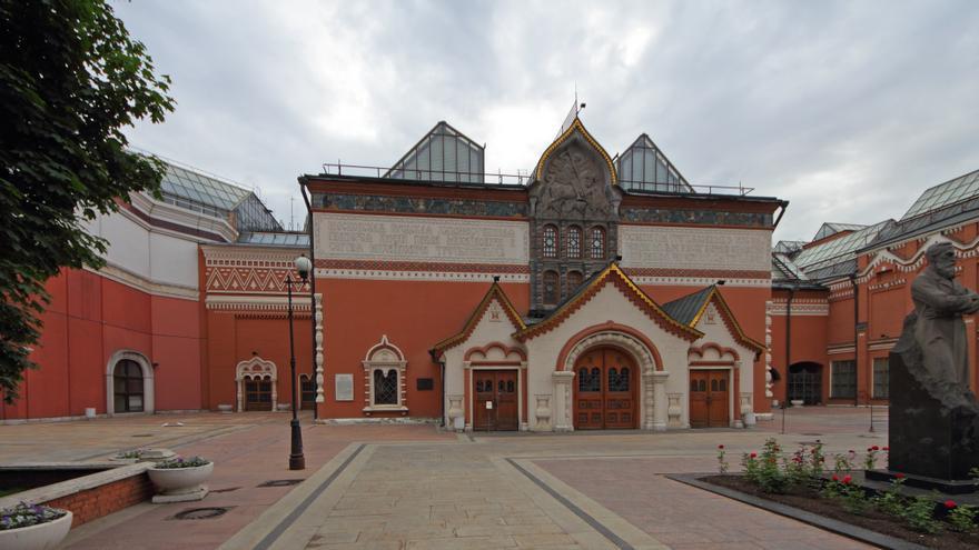 La Galería Tretyakov, en Moscú (Rusia). Foto: Wikipedia