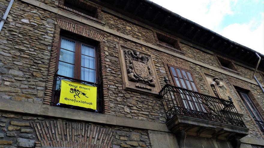 Palacio okupado