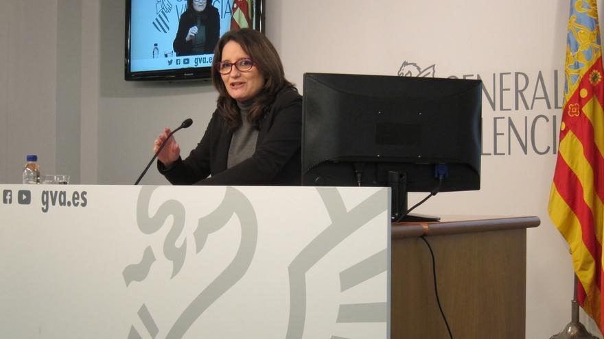 """Oltra dice que Feria Valencia es """"otro ejemplo de la mala gestión"""" del PP y es partidaria de reclamar el pago"""