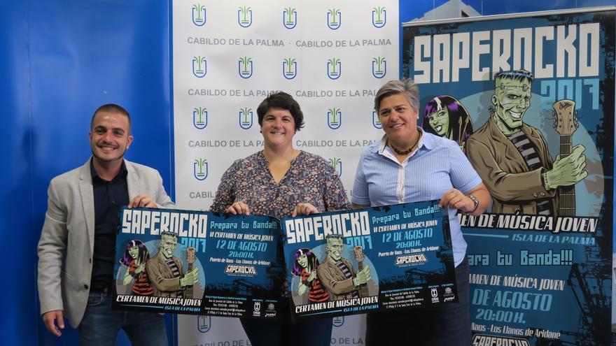 Presentación de lasexta edición del certamen de música juvenil 'Saperocko'.