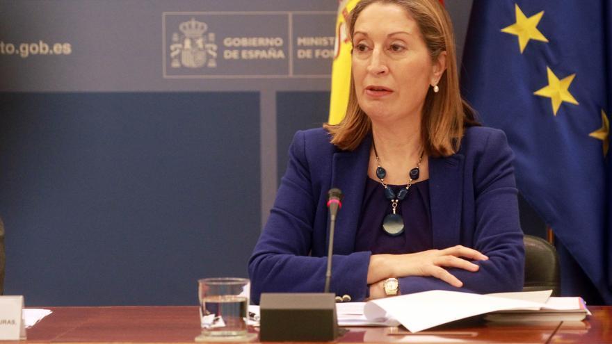 Imagen de archivo de Ana Pastor. Foto: Ministerio de Fomento
