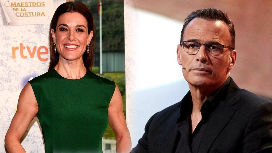 Raquel Sánchez Silva y Carlos Lozano, presentadores y también concursantes