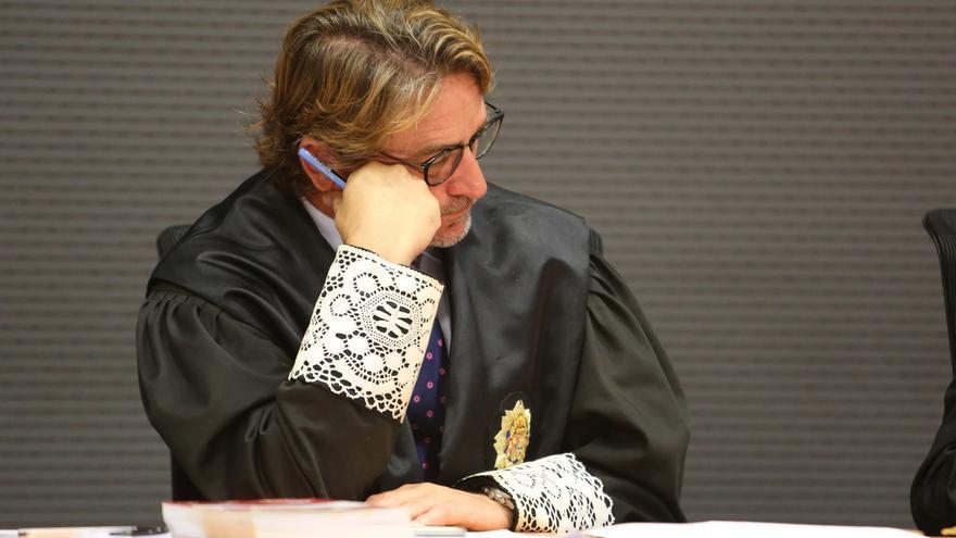 El juez Salvador Alba en el juicio a Juan 'El Rubio'