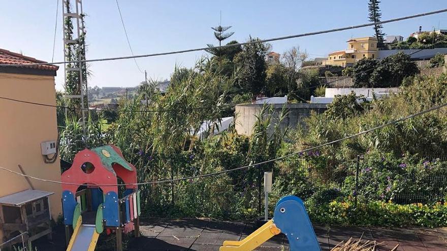 Zona de recreo del CEIP San Vicente de Velhoco (imagen facilitada por Cs).