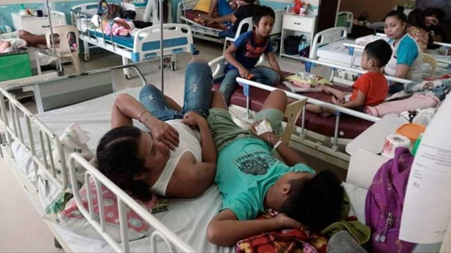 Filipinas declara una epidemia de dengue.