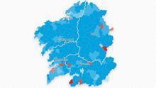 MAPA | Los resultados del 12J en Galicia, municipio a municipio