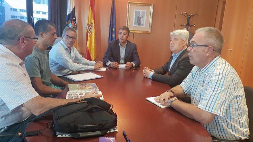 Reunión mantenida con Narvay Quintero por cargos públicos de Arafo