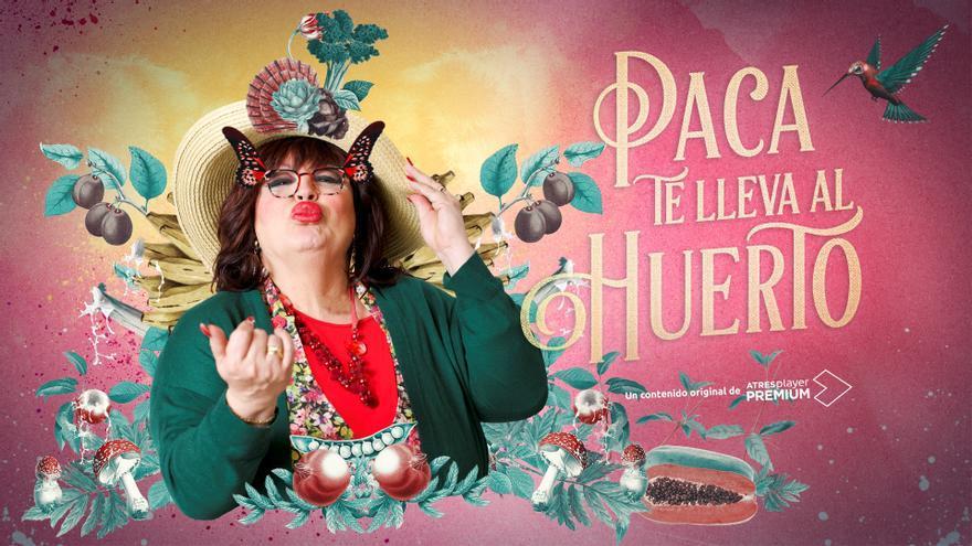 """Paca La Piraña """"te lleva al huerto"""" en AtresPlayer desde el 14 de febrero"""