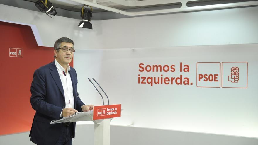 Patxi López pide a la izquierda abertzale que asuma también su responsabilidad tras el comunicado de ETA