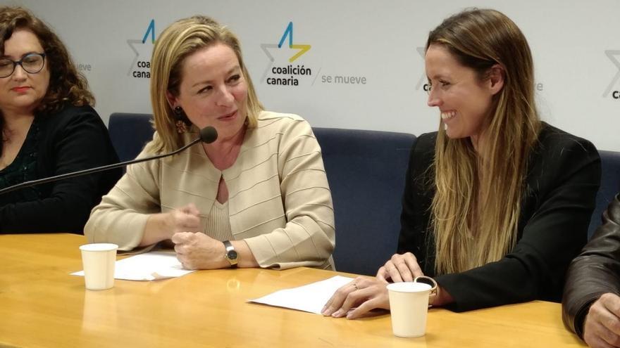 Ana Oramas y María Fernández, cabezas de lista de CC al Congreso por Santa Cruz de Tenerife y Las Palmas