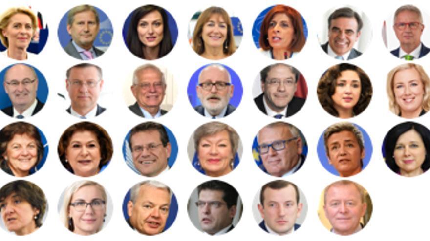 Quién es quién en la nueva Comisión Europea
