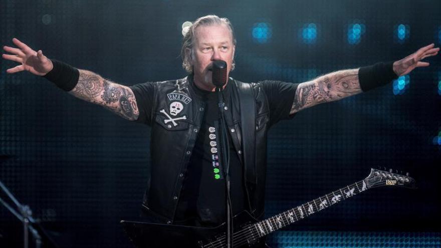 """Metallica, declarada """"la banda más taquillera de todos los tiempos"""""""