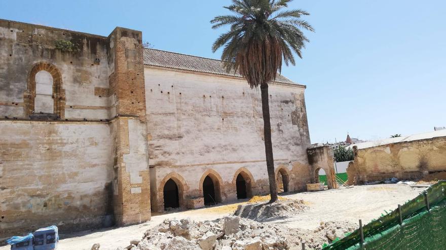 Obras de rehabilitación de la Iglesia de Santa Ana en Carmona (Sevilla). | FORO POR LA MEMORIA DEL BAJO GUADALQUIVIR