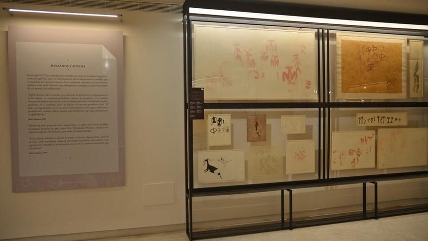 El Museo de Altamira acoge una exposición de calcos de arte rupestre que incluye cuatro inéditos de esta cueva
