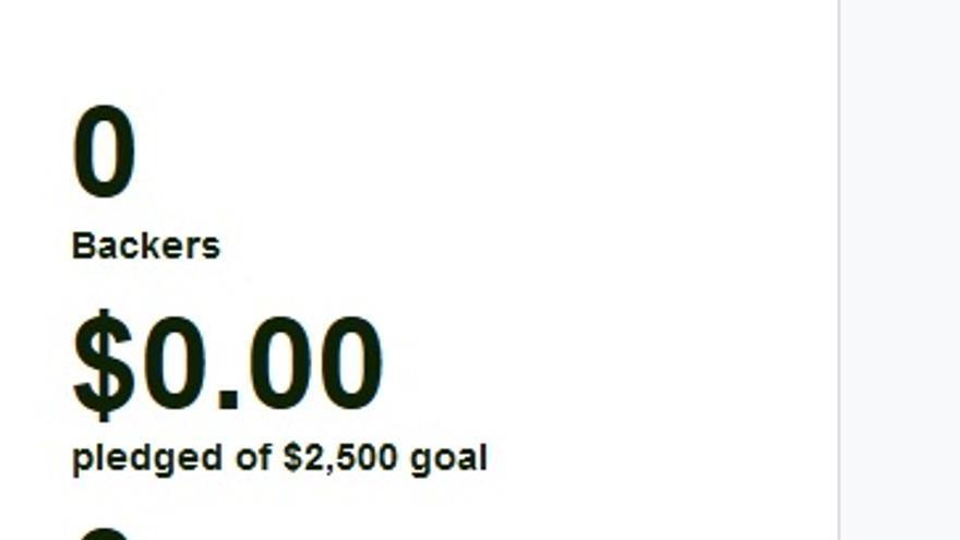 En Kickstarter, hay proyectos con la marca de los tres ceros