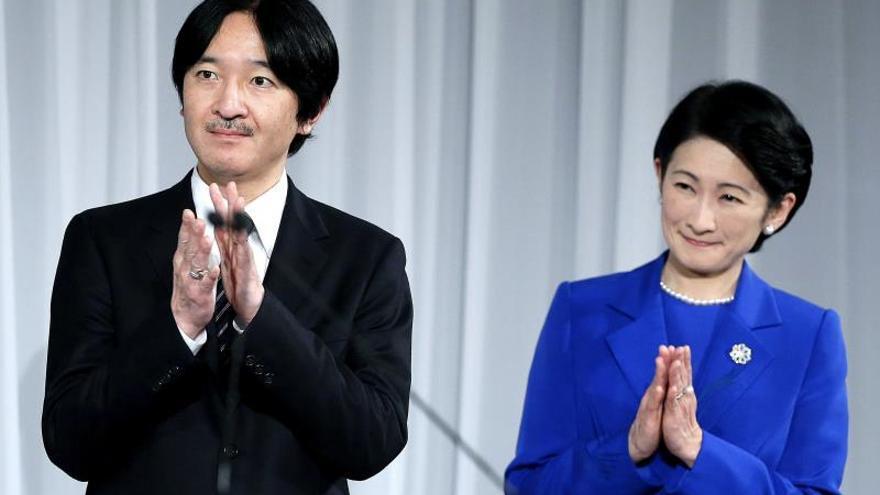 Los príncipes de Japón parten hacia Perú y Argentina