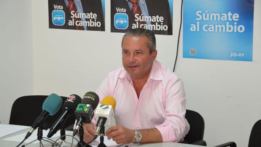 El presidente del PP en La Gomera, Javier Trujillo