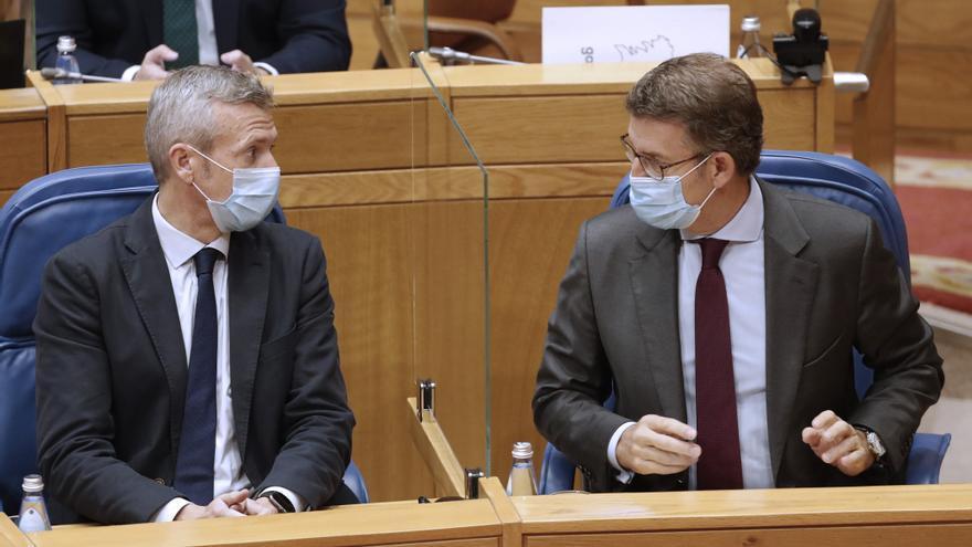 El Parlamento de Galicia aprueba el techo de gasto con el voto en contra de la oposición