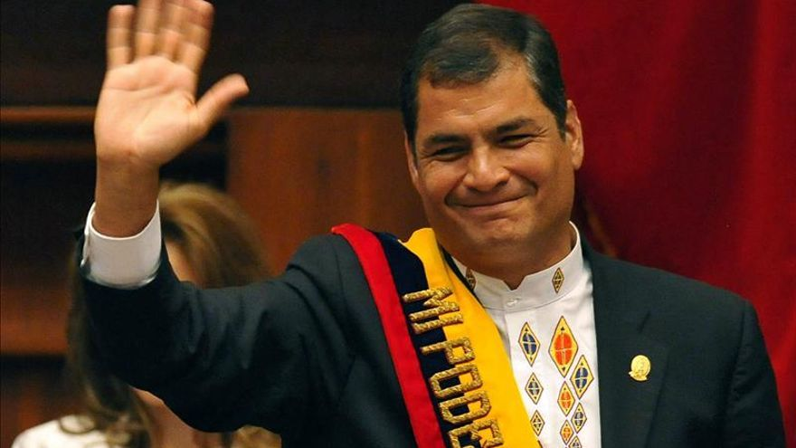 El presidente de Ecuador jura mañana un nuevo mandato hasta el 2017