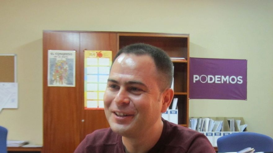 """Llorente, partidario de """"contribuir"""" en una alternativa para liderar Podemos C-LM que """"podría tener apoyo mayoritario"""""""