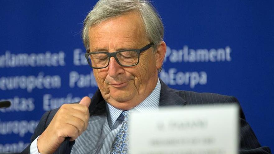 """Juncker dice que si se vota """"sí"""" a Cataluña independiente, quedaría fuera de la UE"""
