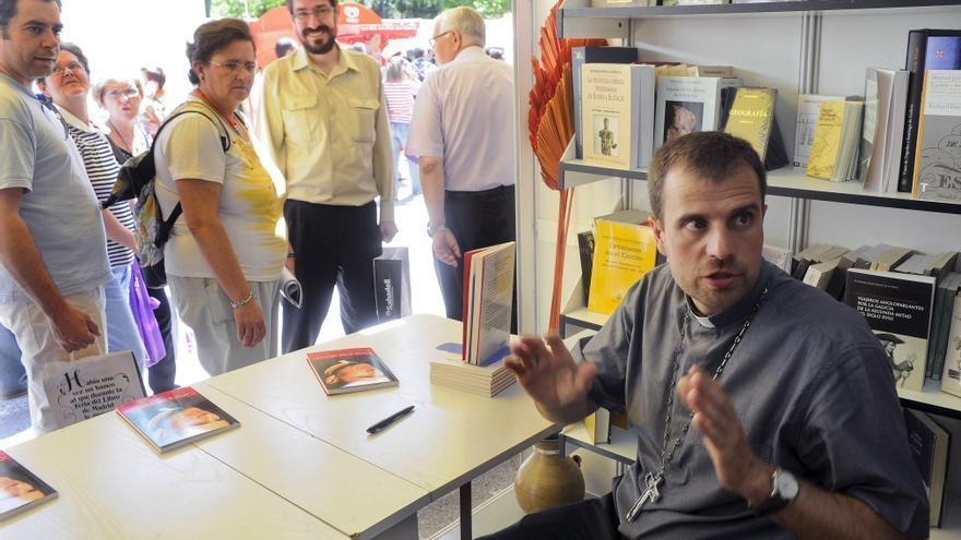 Novell, en una firma de libros en Madrid