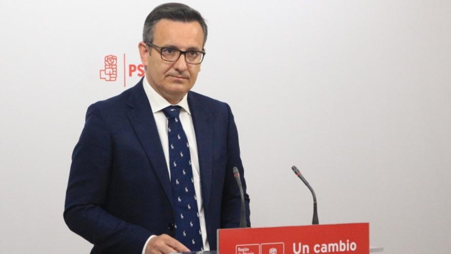 El delegado del Gobierno en Murcia, Diego Conesa