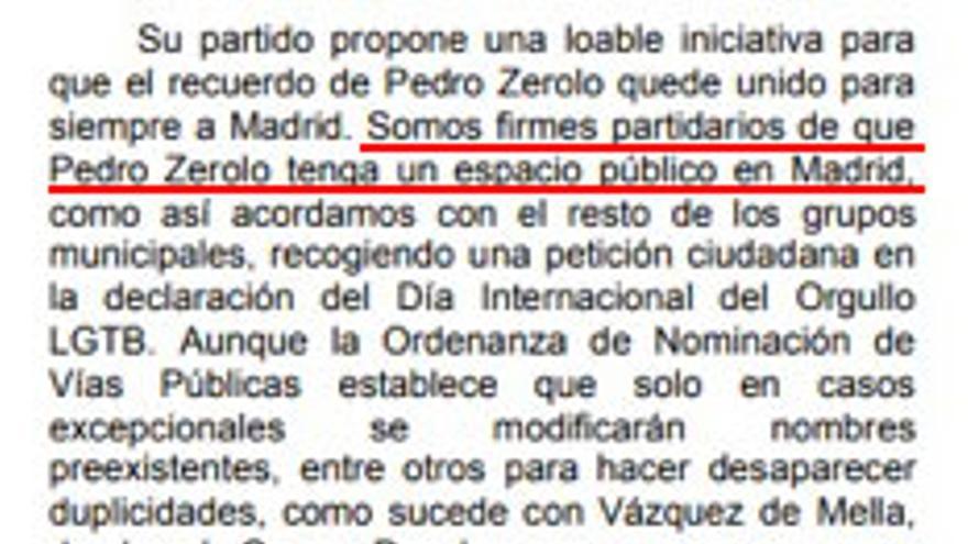 Proposición PSOE