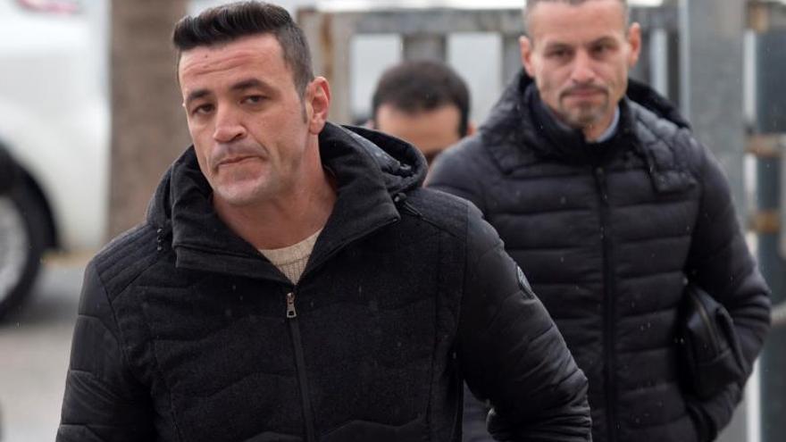 David Serrano, único acusado por la muerte de Julen, a su llegada a los juzgados