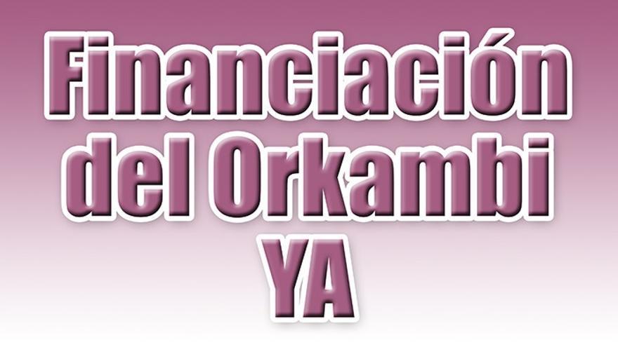 Cartel que informa de la protesta de este jueves en la plaza de la Candelaria