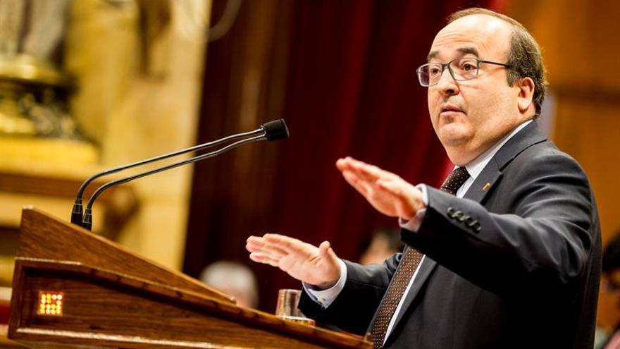 Iceta rechaza que haya terrorismo en CDR y llama a ponderación y no banalizar