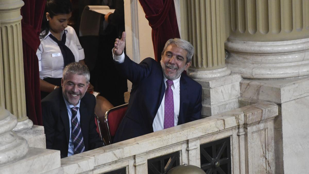 Aníbal Fernández, flamante ministro de Seguridad. Reemplaza a Sabina Frederic.