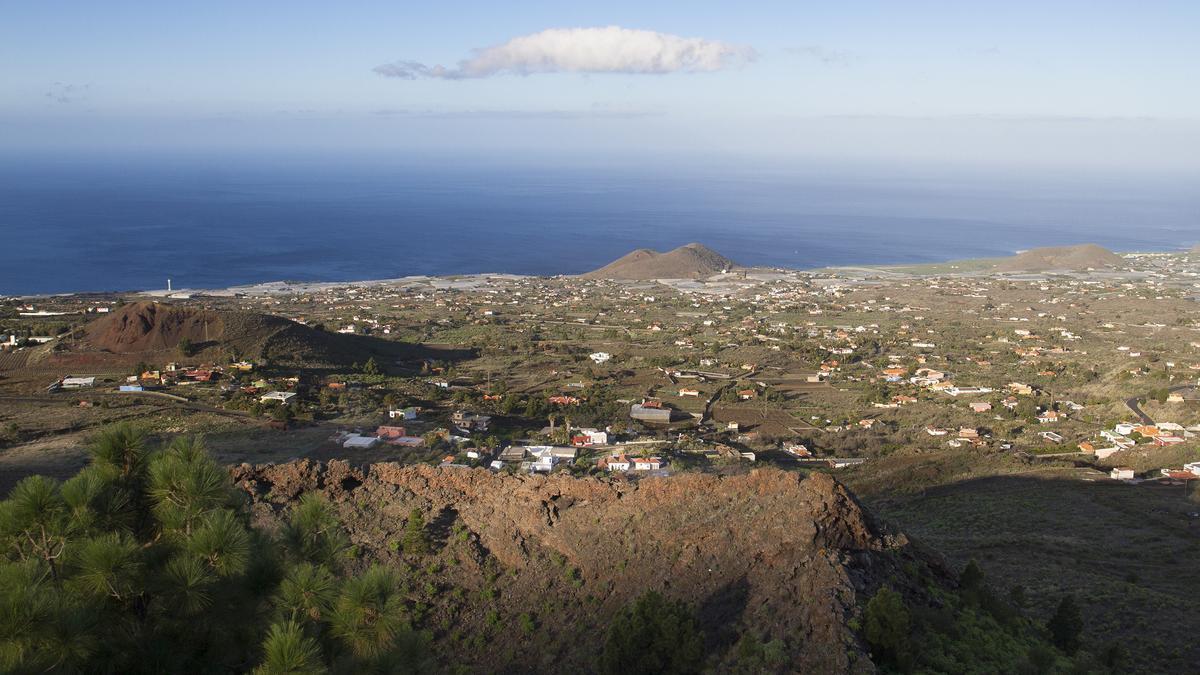 Volcanes en Cumbre Vieja, La Palma