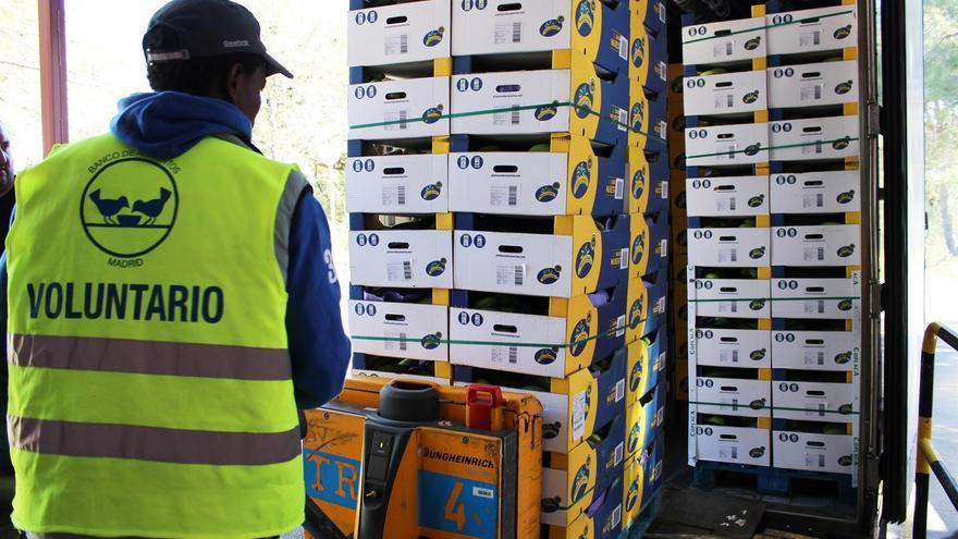 Asprocan dona esta Navidad más de 1 millón de plátanos de Canarias.