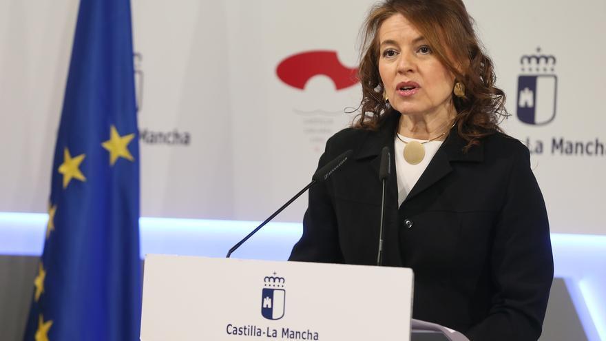 La consejera de Bienestar Social, Aurelia Sánchez