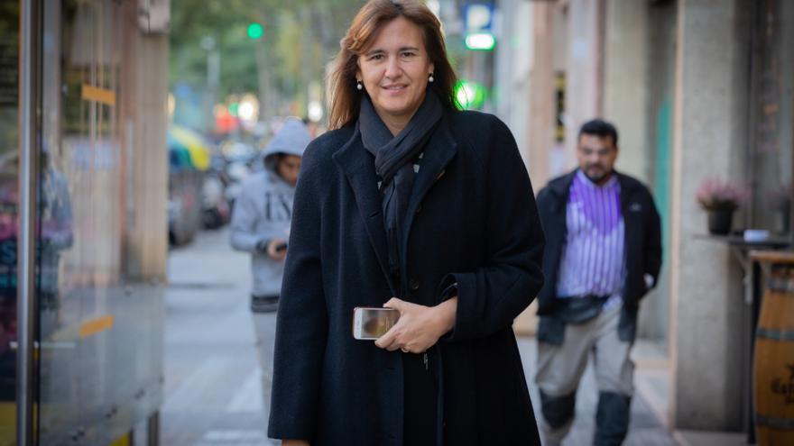 La candidata de JxCat en el Congreso, Laura Borràs
