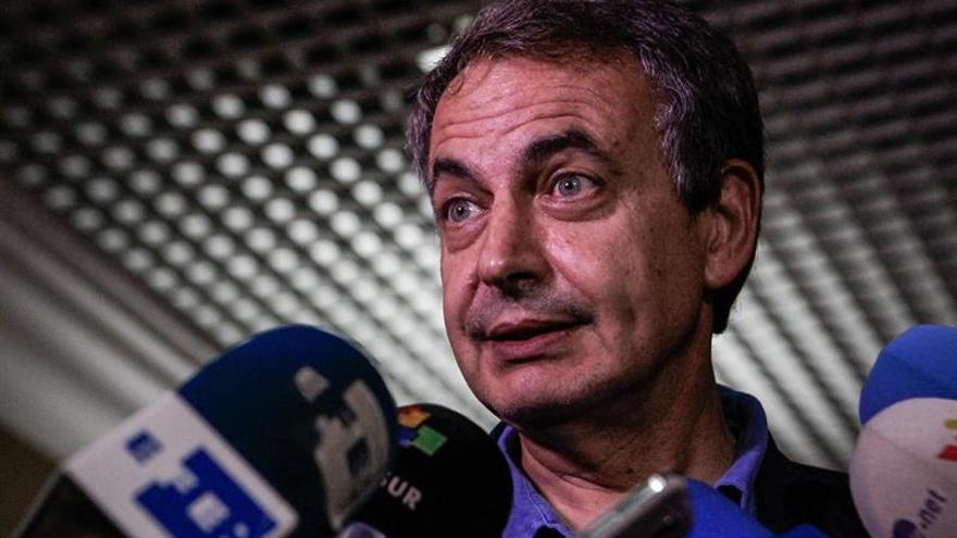 Oposición venezolana reitera sus condiciones a Rodríguez Zapatero y Torrijos